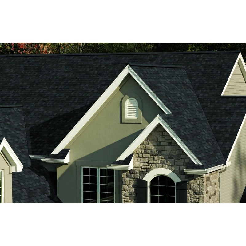 Owens Corning Oakridge Onyx Black Algae Resistant Shingles